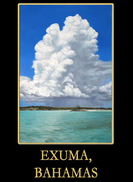 Exuma, Bahamas Oil Paintings by Earl Klatzel